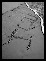 Written in the Sand by SurfGuy3