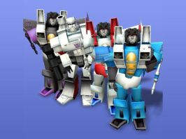 Decepticons as sims by Sphinx47