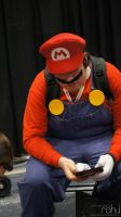 NYCC 2012 - Mario, Taking A Break by BluePhoenix-Ra