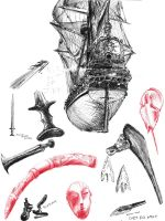 museum sketching part1 by Emergensy
