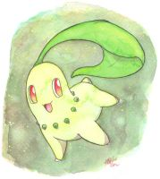 Chikorita by The-EverLasting-Ash