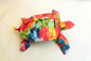 Origami Turtle by RobertSalazar