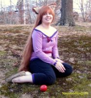 Spice and Wolf Cosplay by MarmaladeSkysGirl45