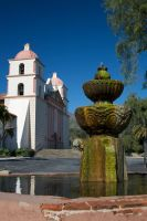 Santa Barbara Mission by shutterbugmom