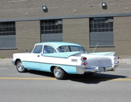 Departing '59 Dodge by finhead4ever