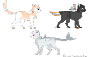Feline Adoptables .:closed:. by Uhdopts