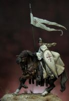 Knight of the holy sepulchre by erillustrator