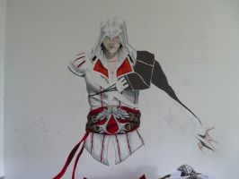 WIP2:Ezio by Laminated-TeabaG