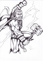 mighty thor by petethefreak