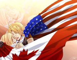 APH - Us Against the World by mikokume-raie