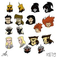 DnD M: Rogues Gallery by ADHadh
