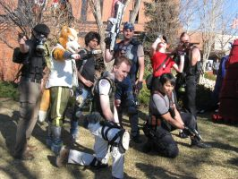 Shooter Video Games Group Photoshoot 4 by Leap207