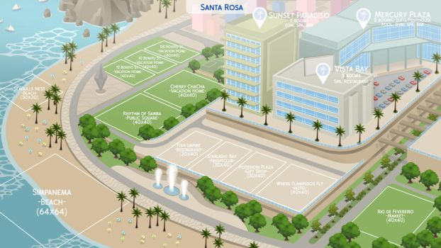[The Community Worlds Project] Santa Rosa by filipesims