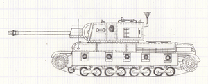 R-3 Romanian tank by Erwin0859