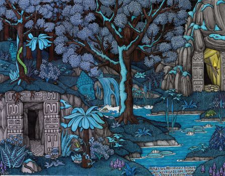 Sacred burial grounds by rusel1989