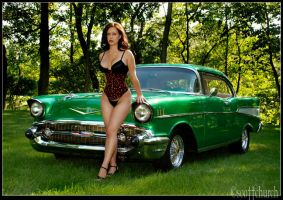 this is a chevy bel air by scottchurch