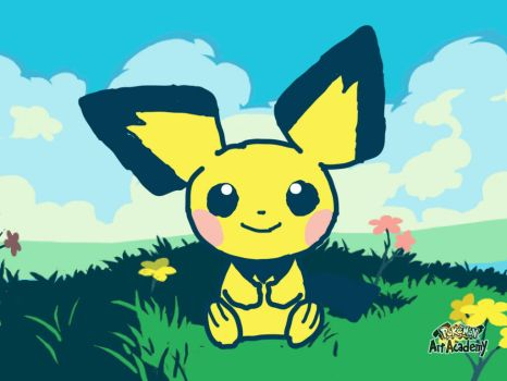 Pichu in his mind by IFryeYoshi