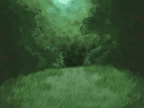 forest background by GumandPeanuts17