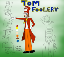 Tom Foolery: Reference sheet by AndYetNoBananas