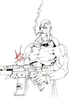 The Sarge by Angelic-Breaker