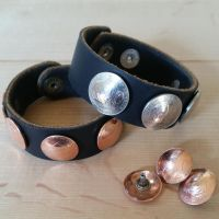 Shield Penny and Buffalo Nickel Bracelets by passbyguy