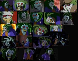 The Batman Joker expressions reference 2 by arcanineryu