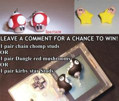 Enter  to win Free Chain chomps and more by spaztazm