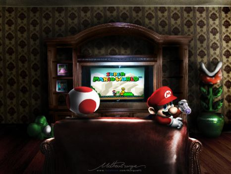 Mario play Mario by Rungue