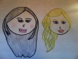 Taylor Swift and Selena Gomez by Twins429