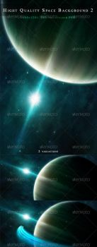 Quality space background 2 by M3-f-web