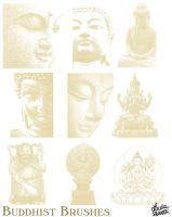 Buddhist Brushes 2 by lotus82