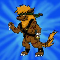 Fake Digimon by Diggersby-Tho