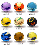 New Pokeballs Collection 2 by Bestary