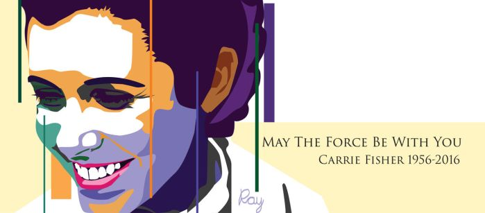 Tribute to Carrie Fisher by SlimShady570