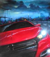 dodge dart inspired by contest traditional art by JorgeMota