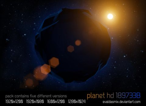 Planet HD 189733B wallpaper by evaldasmix