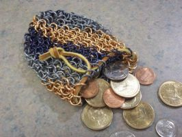 Chain mail pouch by Luprand