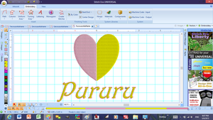 PururuEmbroidery Pattern for Patches by SolarGear079