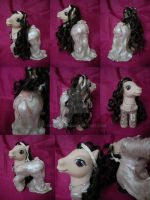 My little Pony Custom Lady Anne Boleyn by BerryMouse