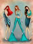Daughters of Poseidon Fashion Collection 3 by BasakTinli