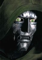 Julian McMahon as Doctor Doom by McInchakArt