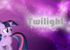 Twilight Sparkle background by ScootsNB