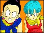 Milk y Bulma DBZ by minguinpingu05