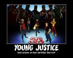 Young Justice by SapphireCrusader