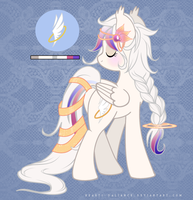 Pony Auction 04 [CLOSED] by SILK-RIBBON