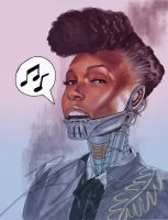 Janelle Monae (2010) by RonAckins