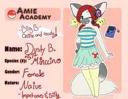 Dusty~Amie Academy by Chocolate-Bunnie