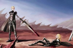 Claymore Fanart by gegemac