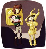 saint seiya - the most dramatic flashback by spoonybards