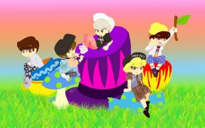 SHINee VCR 2 JAT by Pulimcartoon